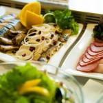 Шведский стол - блюда